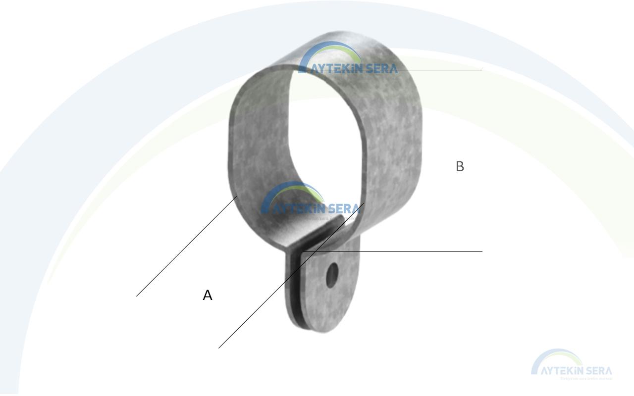 Oval Profil Kelepcesi