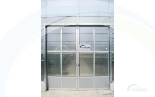 Aluminium Greenhouse Door
