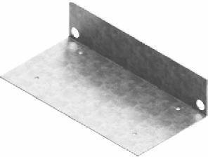 Steel Plate Of Gutter End