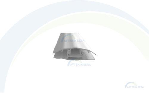 pvc tırnaklı H bağlantı profili