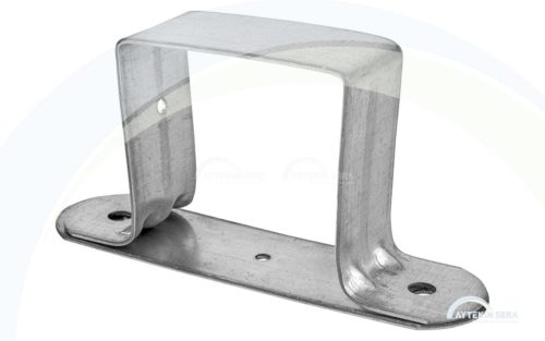 Profile Clamp With Sheet Metal