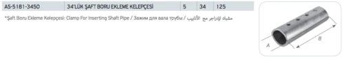 Şaft Boru Ekleme Kelepçesi Fiyatları