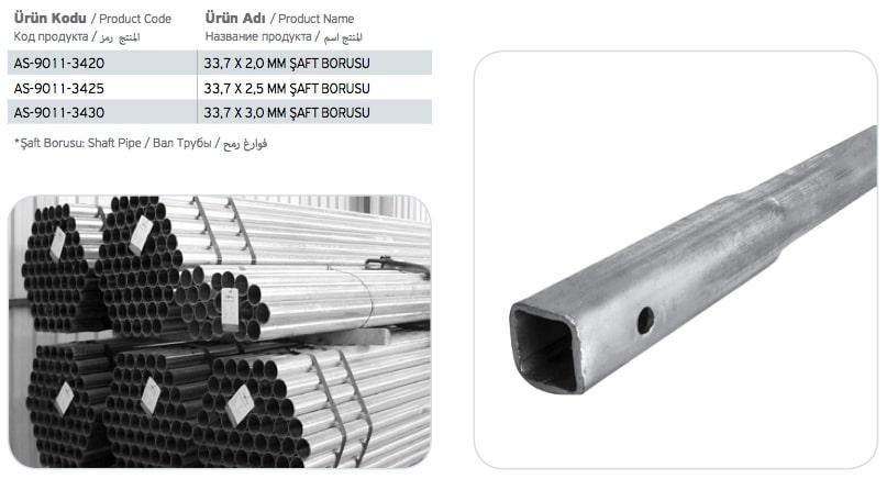 Şaft Borusu Fiyatı